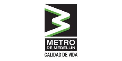 Logo Metro de Medellín